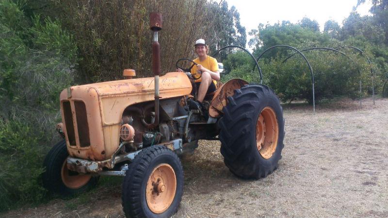 Der Oranje Tractor