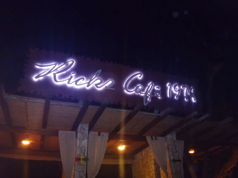 Junggesellenabschied in Rick´s Cafe