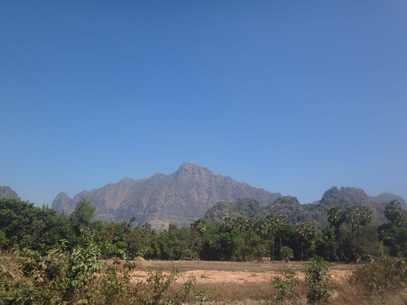 Hpa-an Landschaft